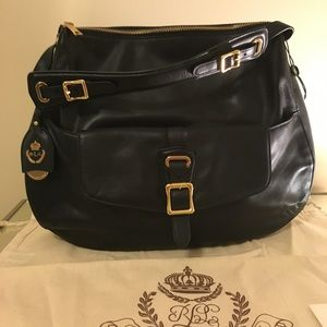 NEW! Ralph Lauren Leather Bag